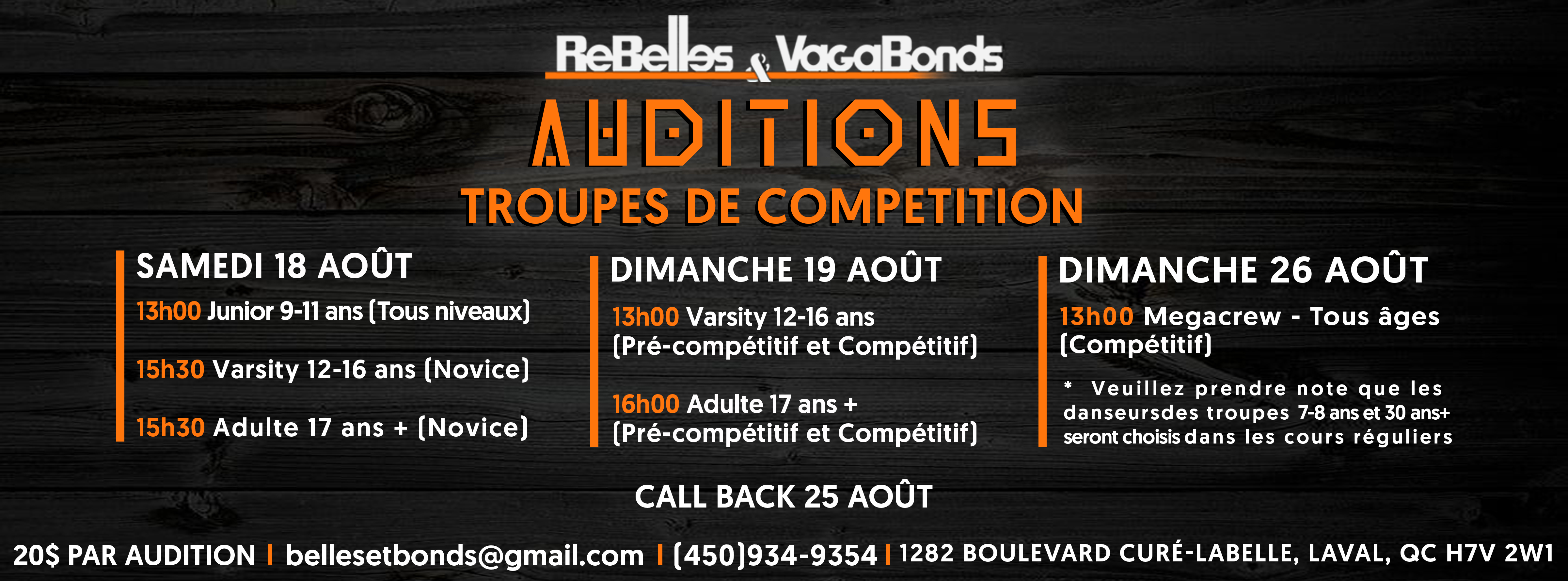 Auditions-site