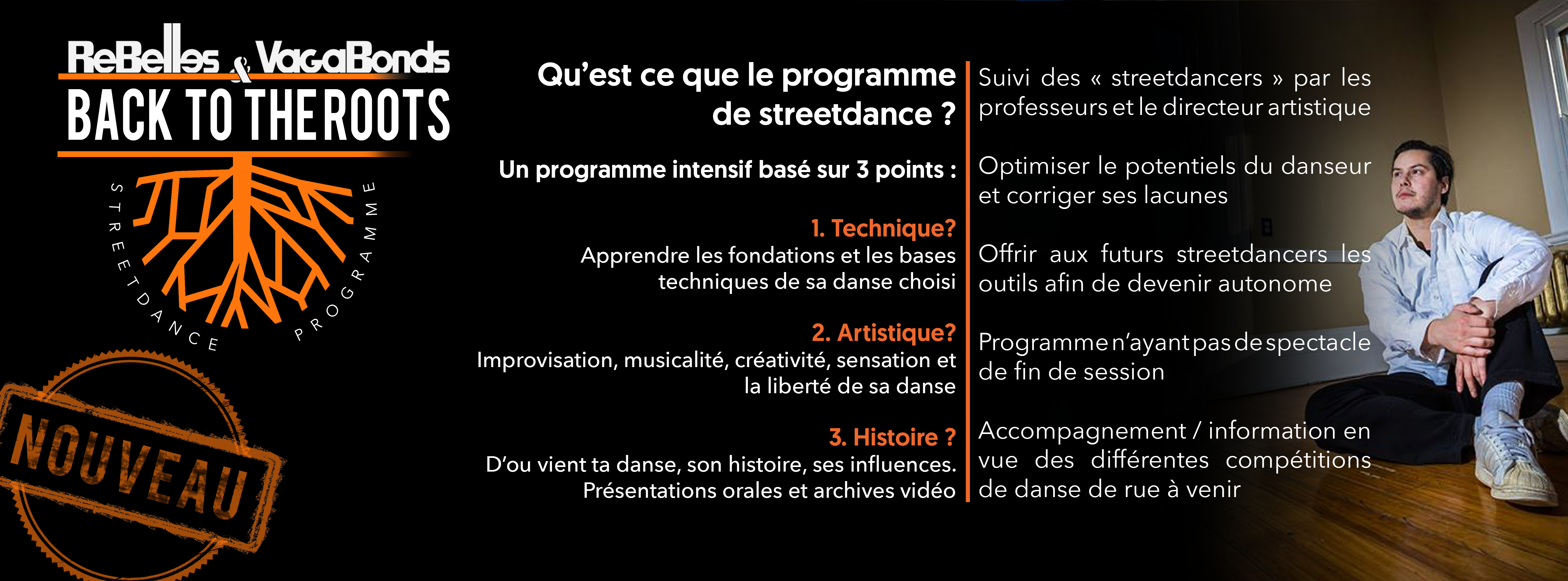 programme de streetdance back to the roots